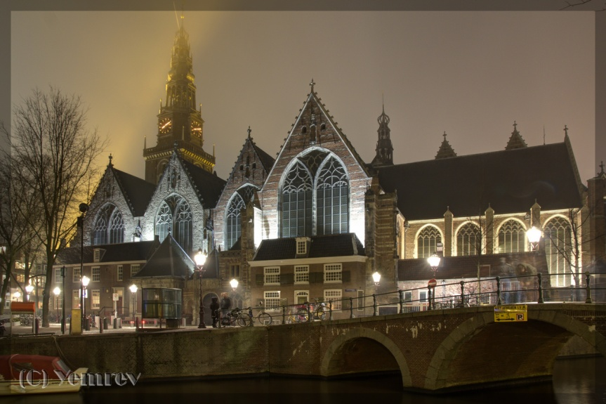 Oude Kerk (HDR)