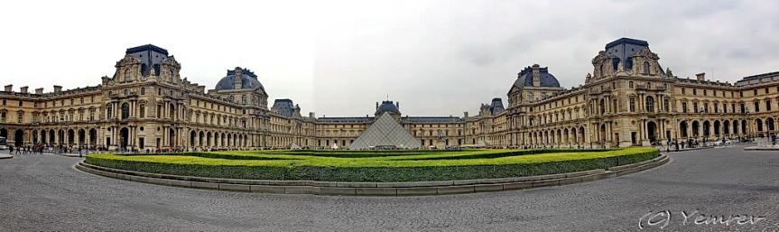 Panorama Louvre