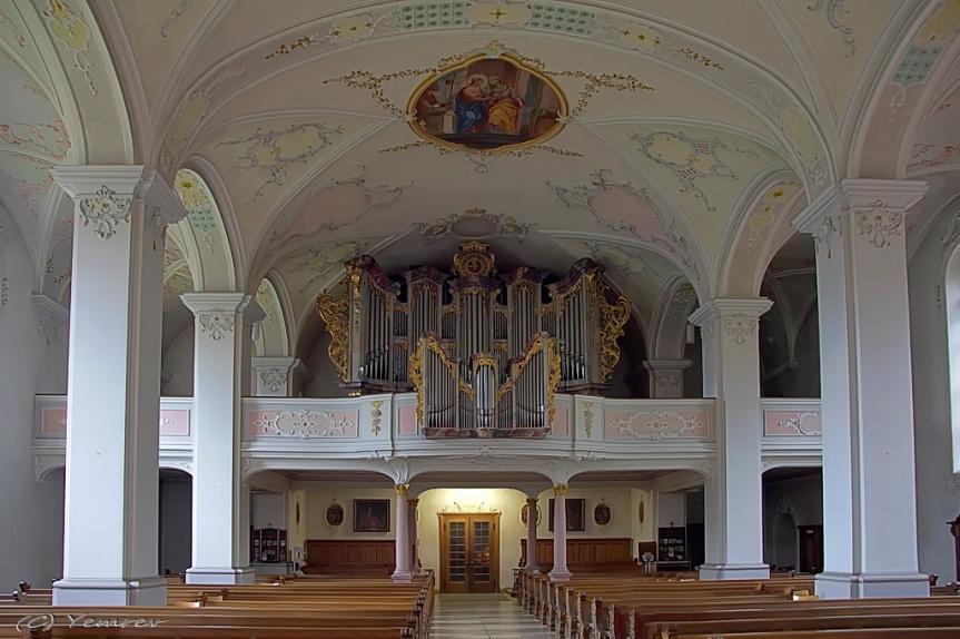 Koor met orgel