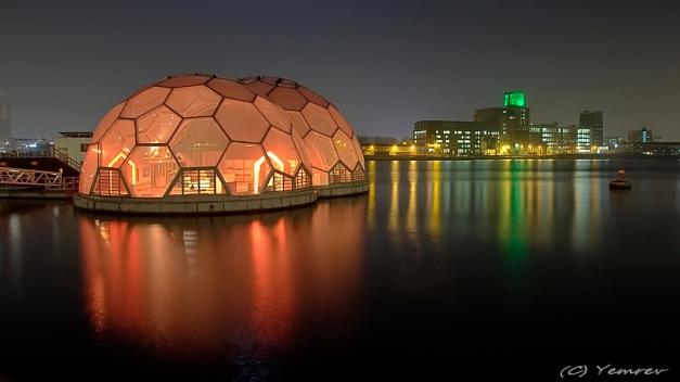Rijnhaven - Drijvend Paviljoen - Meelfabriek