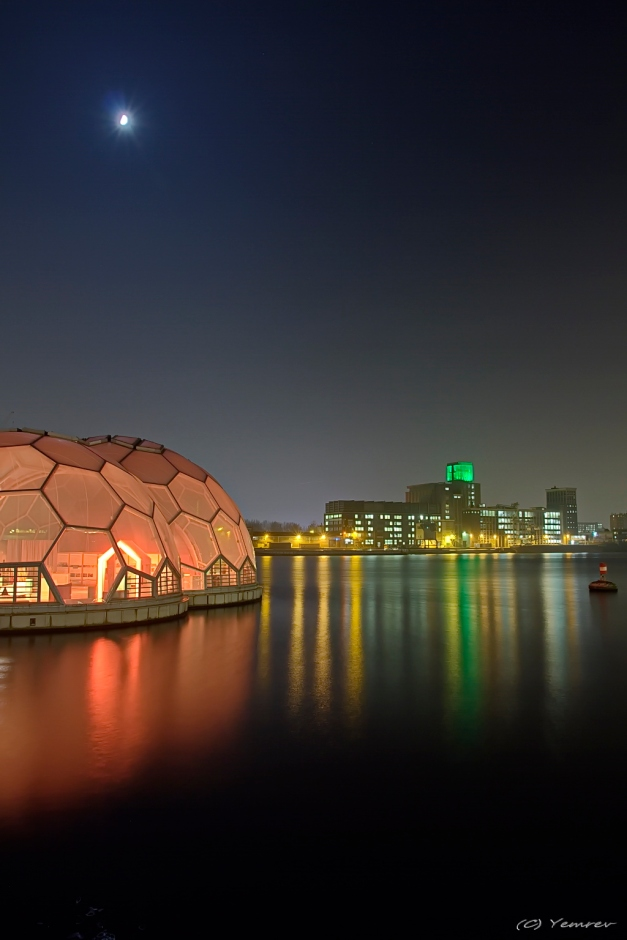 Rijnhaven - Drijvend Paviljoen