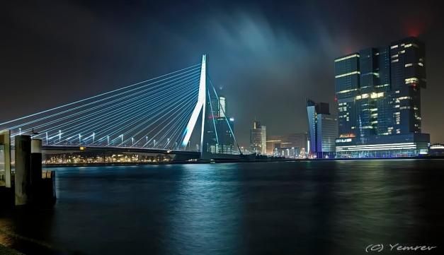 Erasmusbrug - De Rotterdam