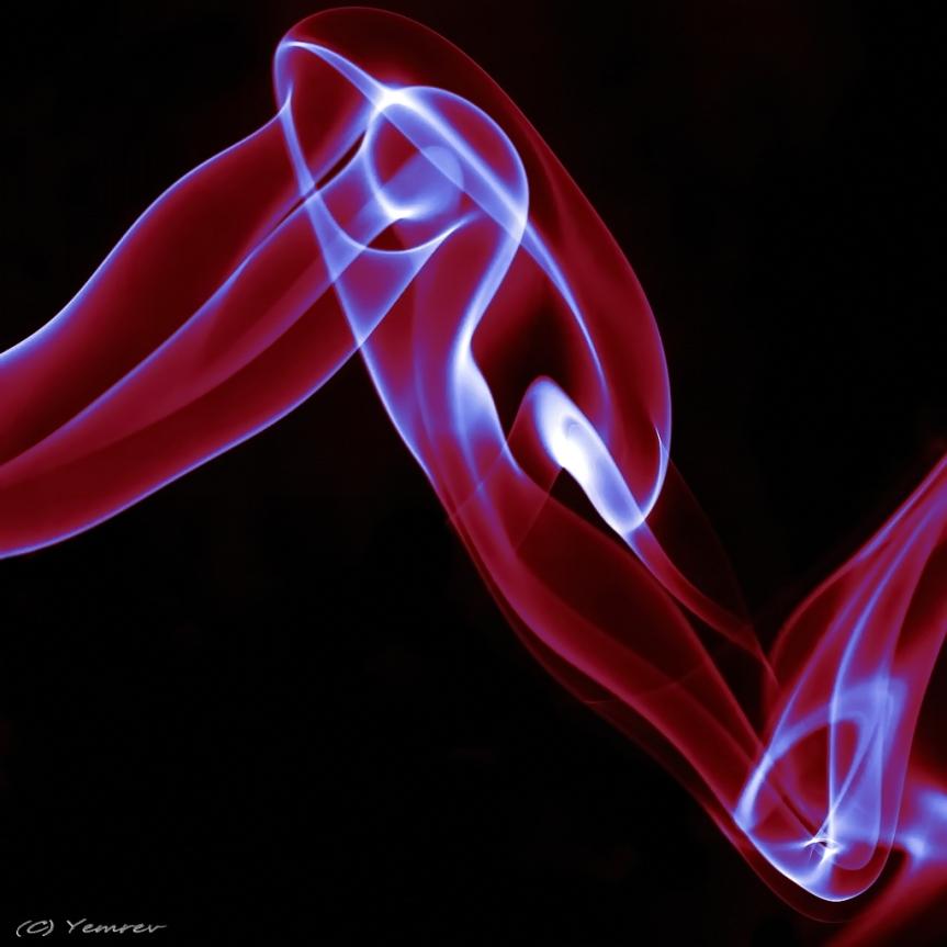 Split Tone (rood en aqua)
