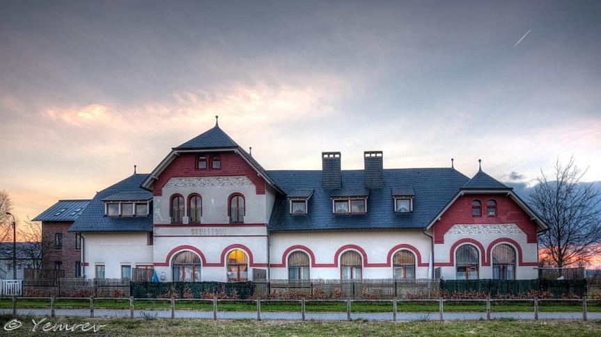 Stationsgebouw Sourbrodt