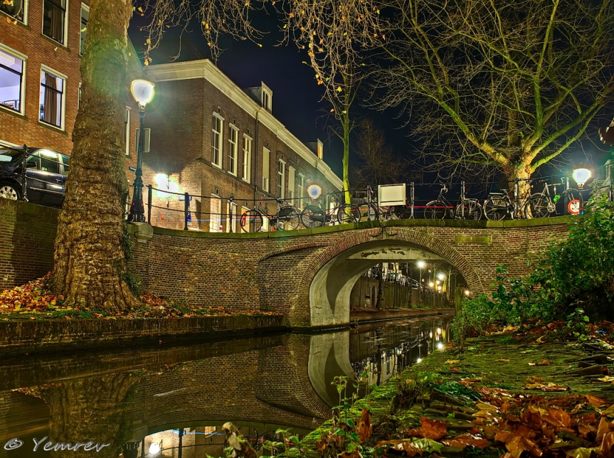 Magdalenabrug, Nieuwegracht