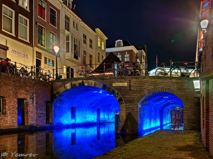 Kalisbrug, Oudegracht