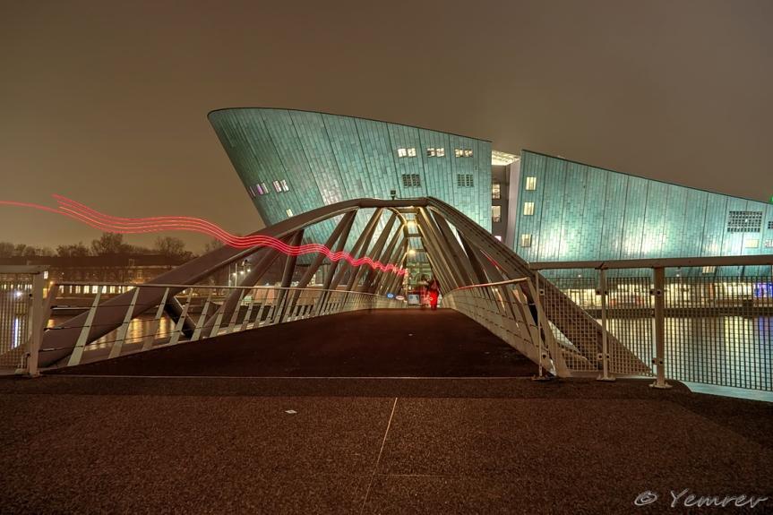 Amsterdam, Oosterdok, NEMO