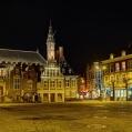 Haarlem - Grote Markt met stadhuis