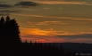 Zonsondergang over de Ourthe