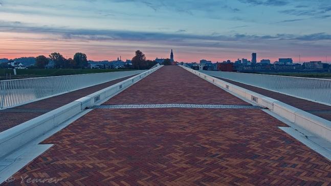 De Lentloper richting Nijmegen