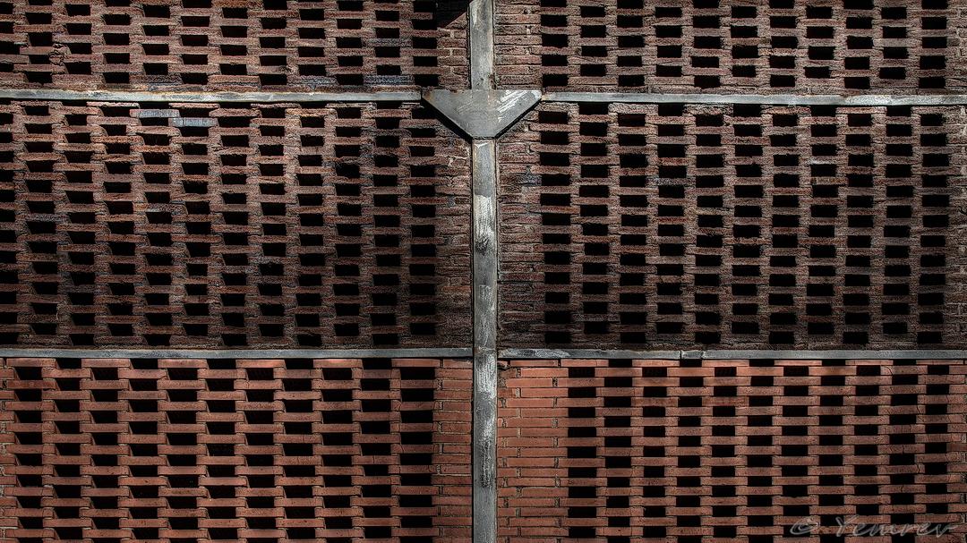 Luchtig muurtrje