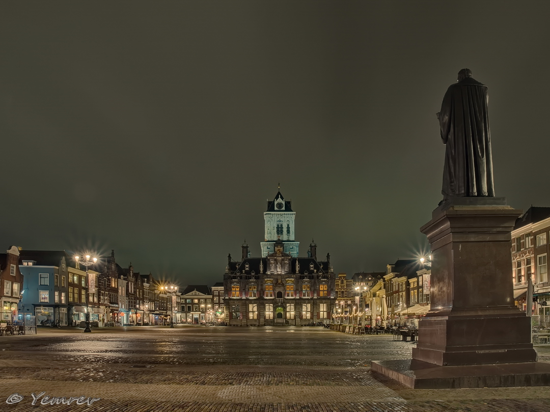 Delft, Markt/Hugo de Groot