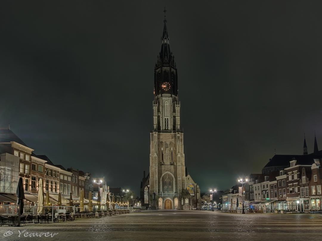 Delft, Markt/Nieuwe Kerk